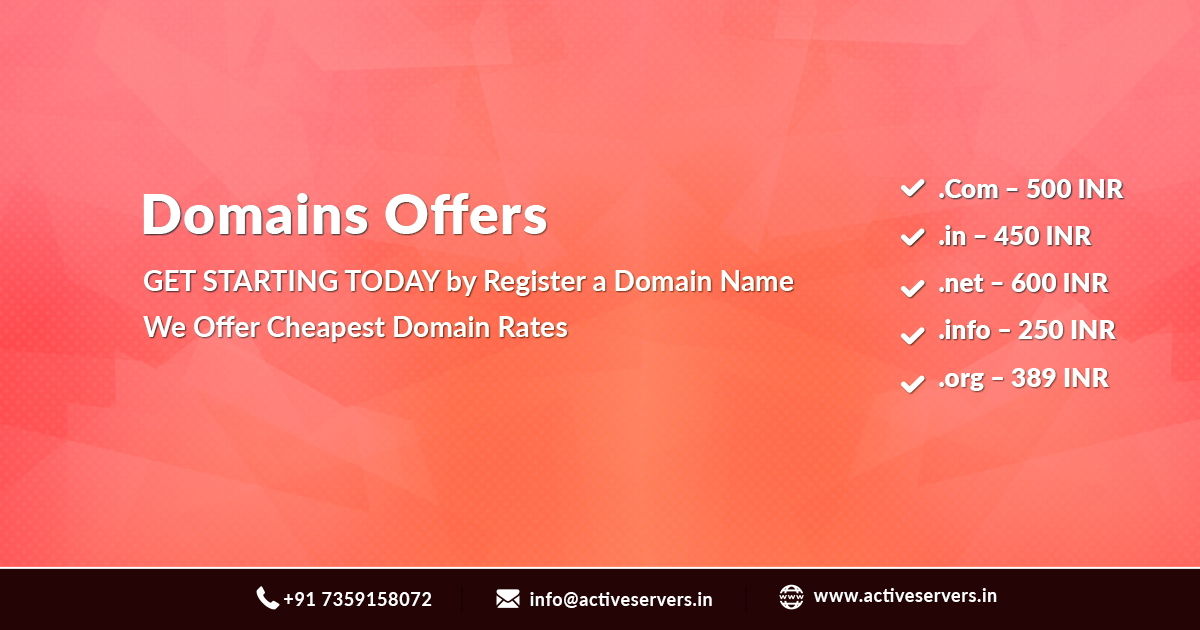 Cheapest Domains